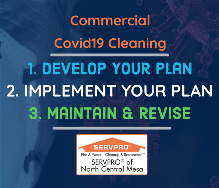 Blog Thumbnail Commercial Covid-19 Cleaning Steps