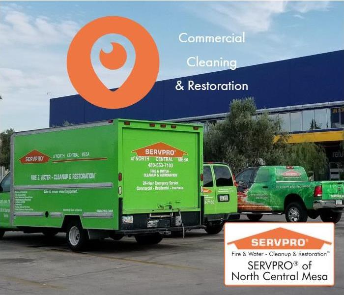 Commercial Commercial Cleaning and Restoration Services in Mesa AZ